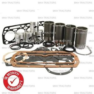ENGINE OVERHAUL KIT FOR CASE 580F 580G WHEELED DIGGERS BACKHOE.