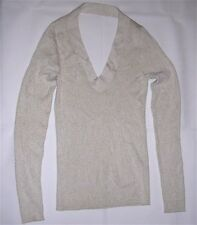 Marciano Individually Crafted Gold Dust Sparkle Long Sleeve Top/Shirt. Sz M. NEW