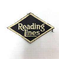 READING LINES Vintage Railroad Patch