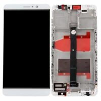 ECRAN LCD + VITRE TACTILE + COMPLETE FRAME POUR HUAWEI MATE 9 BLANC