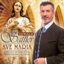 OSWALD SATTLER - AVE MARIA-DIE SCHÖNSTEN MARIENLIEDER  CD NEW+