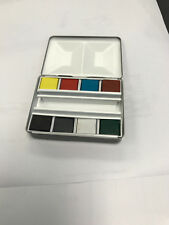 Whiskey Painters Watercolor Pocket Palette with 8 Pan colors (Bijou set) $29.99