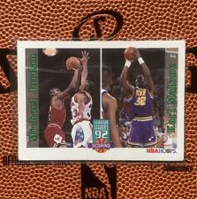1992-93 NBA Hoops Michael Jordan Karl Malone League Leaders #320 Dream Team