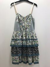 River Island Pretty Layered Dress - size 12 - cotton, strappy, boho