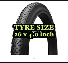 Fat Bike Fat Tyre 26*4.0 Tire/ tyre fat Bicycle Tyre Only UK Stock