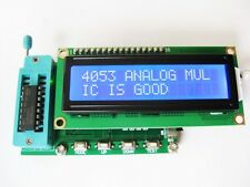 New Integrated Circuit IC Tester f/ 74 40 45 Series lC Logic Gate Digital Meter