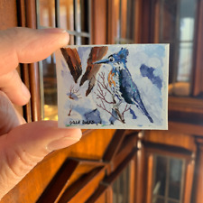 BLUE JAY  by Dale Dirks Wounded Warrior Project Dollhouse Miniature 1/12 Scale