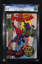 Amazing Spider-Man #97 CGC 8.0 Drug story not approved