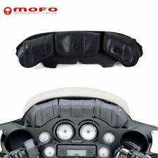 Front Three-Pocket Fairing Pouch Windshield Bag For Harley Electra Street Glide