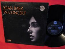 JOAN BAEZ In concert LP 1962 ITALY First Pressing AMADEO label Mega Rare