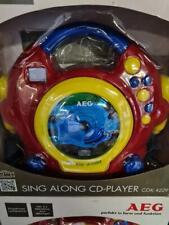 AEG CDK 4229 Kinder CD-Player mit Karaoke-Funktion - Bunt (400624)
