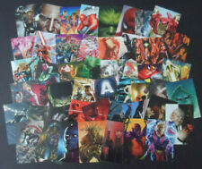 PANINI  MARVEL 80 YEARS ANNIVERSARY 50 CARD SET & HOLDER.