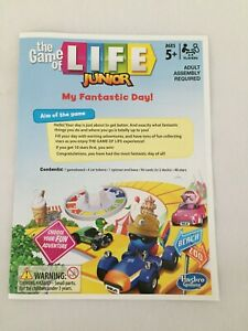 Hasbro Game of Life Junior 2014 - Select Your Game Spares, Parts & Pieces