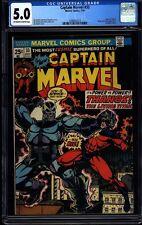 Captain Marvel 33 CGC 5.0 OW/W Silver Age Key Marvel Comic Thanos IGKC L@@K