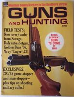 1968 March VTG Guns and Hunting Magazine 28/45 Game Stopper Military Rifle Tips