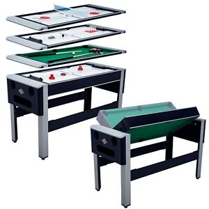 """54"""" 4in1 Pool Bowling Hockey Table Tennis Billiard Convertible Arcade Game Table"""