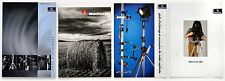 4 catalogues MANFROTTO  Supports Photo Professionnels