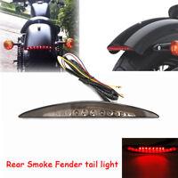 Motorrad Rücklicht Bremslicht Fender LED rauchend für Harley FXSB 13-17