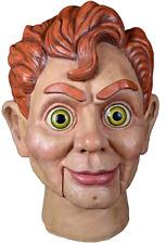 Halloween Goosebumps - Slappy the Dummy Adult Latex Deluxe Mask Costume NEW