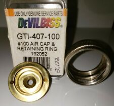 Devilbiss GTI-407-110 Air Cap W/Ring