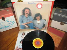 CROSBY/NASH Vinyl Lp WHISTLING DOWN THE WIRE W/Inner 1976 ABC Shrink!
