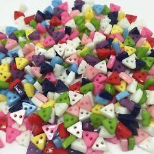 lot de 50 Bouton Crafts triangle  6mm 2 trous scrapbooking bricolage décoration