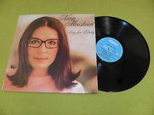 Nana Mouskouri - Song For Liberty RARE Israel LP EX / Bob Dylan / Kristofferson