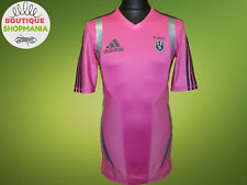 STADE FRANCAIS PARIS Away 2011 Player ISSUE ADIDAS Techfit RUGBY SHIRT Maillot