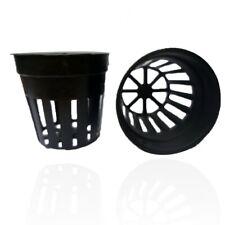 """PLASTIC REUSABLE MESH CUP 2"""" INCH 50 EA FOR HYDROPONICS AQUAPONICS AEROPONICS"""