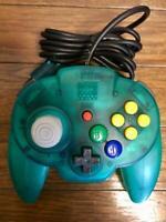 Nintendo 64 Hori Pad Mini Controller N64 Ocean Blue