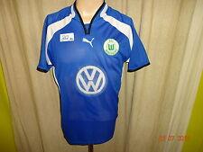 """VfL Wolfsburg Original Puma Ausweich Trikot 2000/01 """"VW"""" Gr.M- L TOP"""