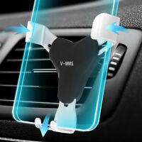 Réglable Gravité Air Vent  Voiture Support Pr Téléphone iPhone Samsung GPS