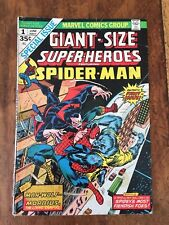 Giant-Size Super-Heroes #1 (1974) Spider-Man Morbius Marvel See Pics & Store