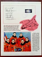 STS-68 SPACE SHUTTLE ENDEAVOUR FDC SIGNED BY ALL 6 CREW MEMBERS - 1994