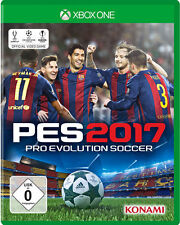 Xbox One game PES 2017 Pro Evolution Soccer 17 Football Game NEW