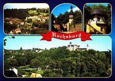 Rochsburg  im Tal der Zwickauer Mulde , Ansichtskarte