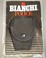 NOS - New Old Stock - Bianchi Police Leather Hand Cuff Case 6400  14410