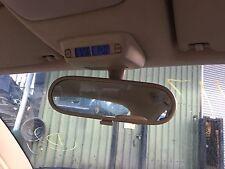VW Volkswagen New Beetle 1998-2005 INTERIOR MIRROR AND CLOCK DISPLAY IN CREAM