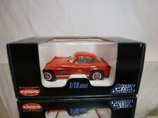 KYOSHO 7005 MERCEDES BENZ 300 SL - RED  1:18 - EXCELLENT CONDITION IN BOX