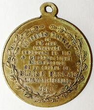 Medaille Concours Musical 1886 Clermont-Ferrand (C19)