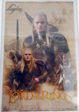Lord of the Rings LOTR Trilogy Legolas Collage Poster  Orlando Bloom 22 x 34