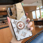 For Samsung Galaxy S10 S20 Ultra S20+ Note10 Note20 A51 A71 Diamond Holder Case