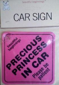 Beautiful Beginnings Car Signs