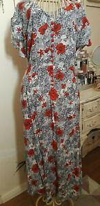 Bnwt Joe Browns Floral Midi Dress Size 18