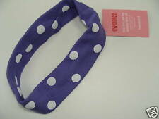 Gymboree Super Star Purple Dot Girls Headband NEW