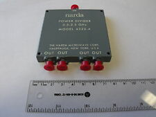 NARDA 4322-4 Power Divider 4-way 0.5 - 2.5GHz
