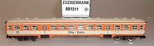 City Tren Vagón de Suplemento Citybahn Db Fleischmann 881011 Escala N 1:160