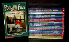 Lot - 24 Pony Pals Chapter Books Jeanne Betancourt RL 3 Scholastic VGC Horses