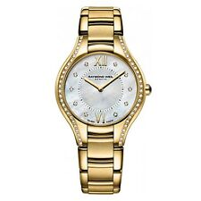 Raymond Weil Noemia Gold & Diamond Ladies Watch 5132-PS-00985 - RRP £ 2295-NUOVO