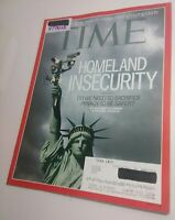 TIME Magazine 5/13/2013 Homeland Insecurity: government surveillance [Near Mint]